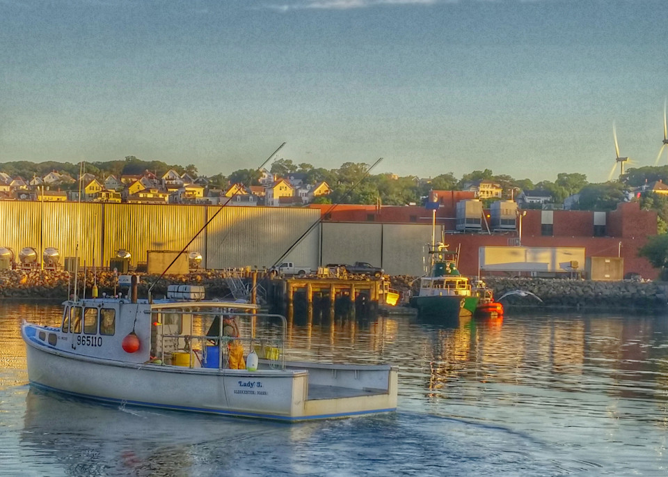 Turnin Up Harbor Art | capeanngiclee