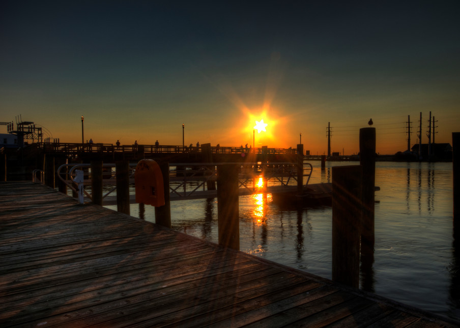 Fine Art Photograph of a Chincoteague Sunset by Michael Pucciarelli