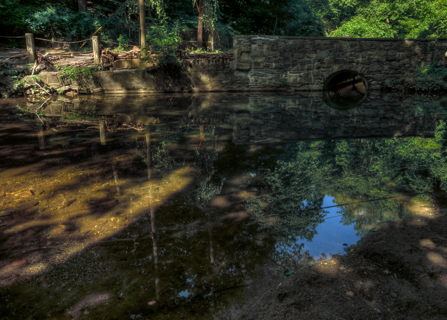 Rock Creek Reflections Ii Art   http://www.michaelpucciarelli.com