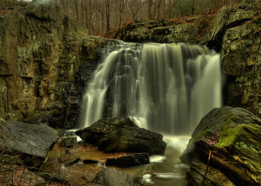 Waters of Kilgore Falls Fine Art Photograph by Michael Pucciarelli