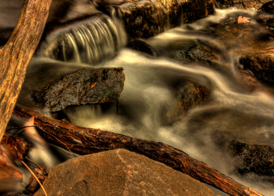 Fine Art Photographs of Billy Goat Trail Waterfall by Michael Pucciarelli