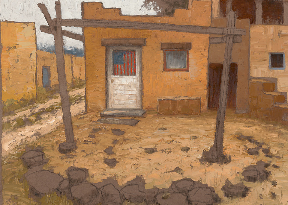 Taos Pueblo Art | Fine Art New Mexico