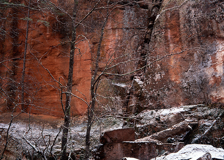 Winter Canyon Art | Fine Art New Mexico
