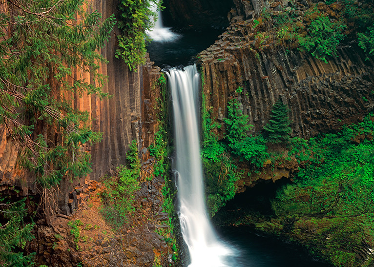 Double Falls Art | Fine Art New Mexico