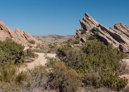 Vasquez Rocks Pano, Agua Dulce, California
