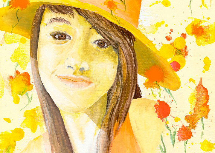 Girl in the Yellow Hat