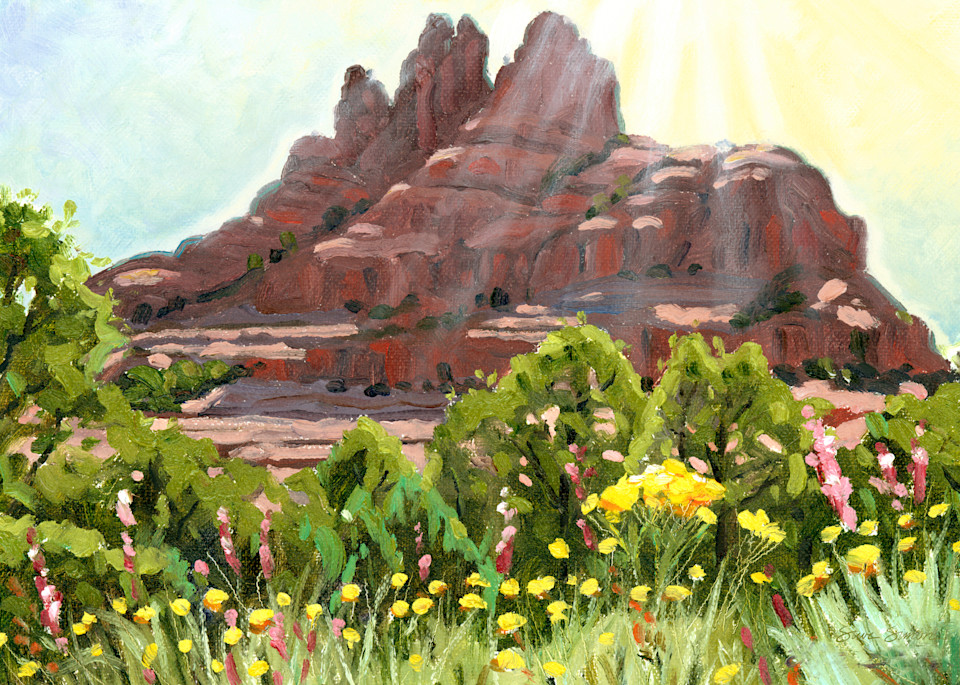 Bell Rock Springtime