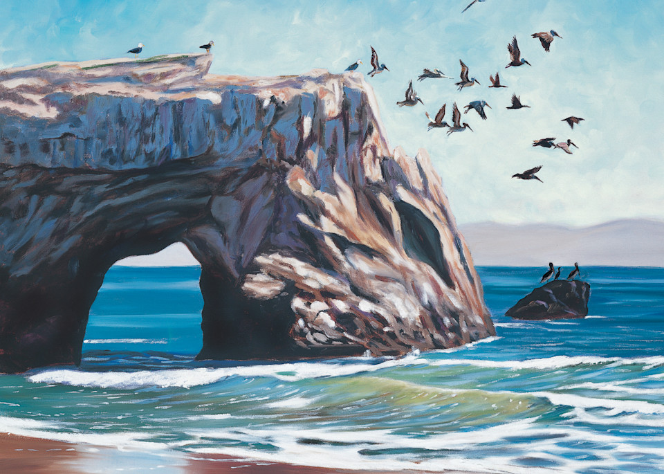 Natural Bridges Santa Cruz