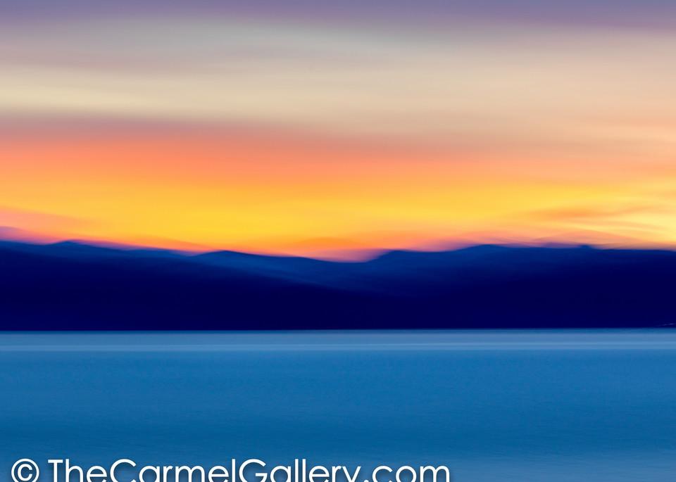Lake Tahoe Sunset  I
