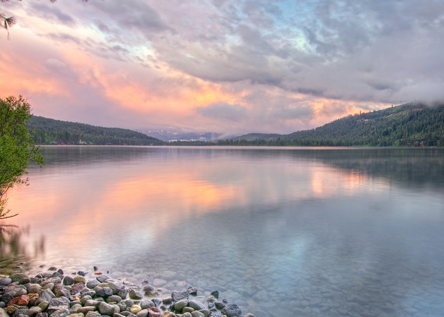 Clearing Storm, Donner Lake
