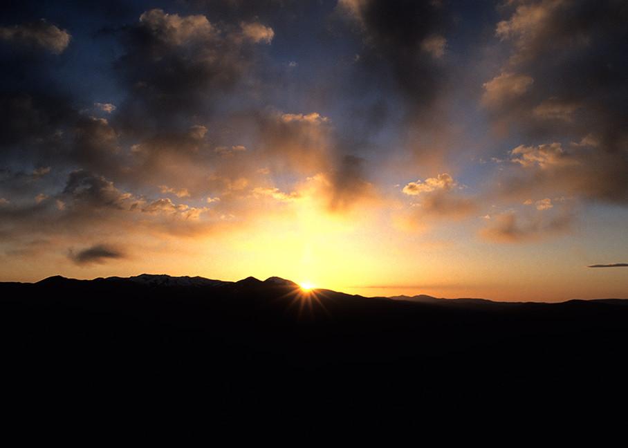 Taos Mountain, Sunset Art   Fine Art New Mexico