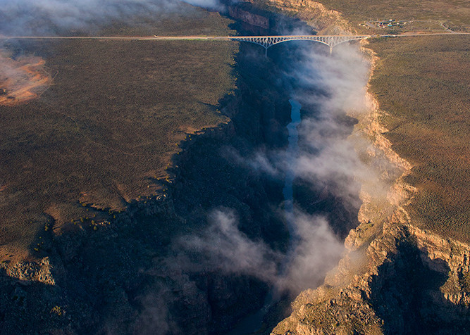 Bridge Mist Art   Fine Art New Mexico