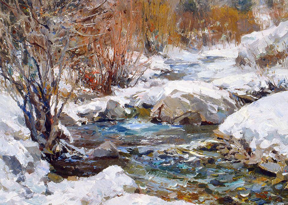 Stream Art   Fine Art New Mexico