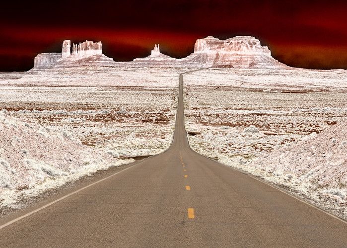 Navajo Boulevard Photography Art | JL Grief Fine Art Photography