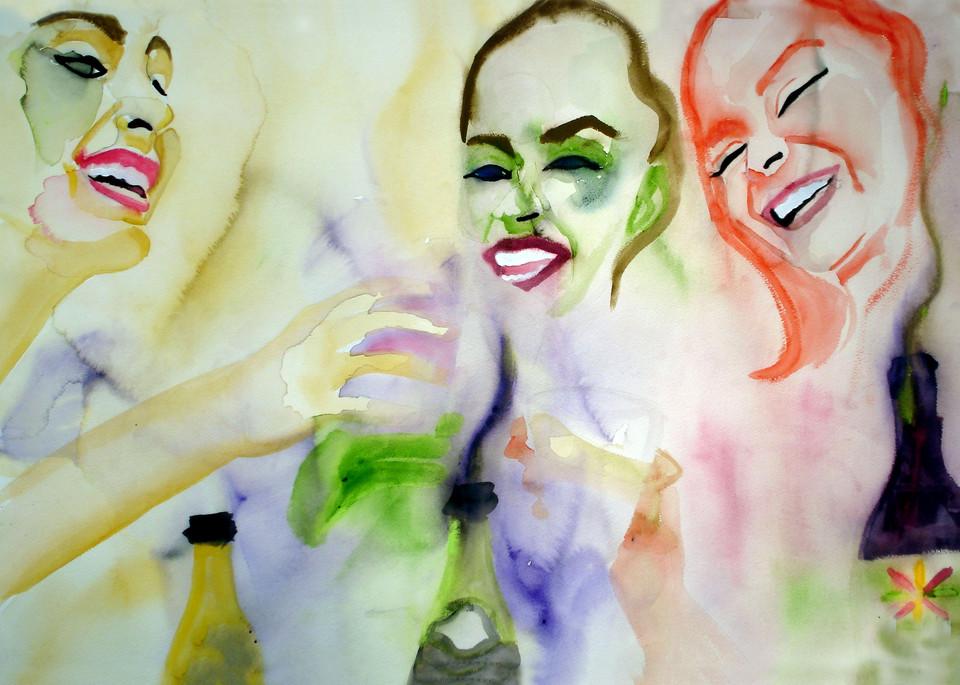 Girls Night Out Art | William K. Stidham - heART Art