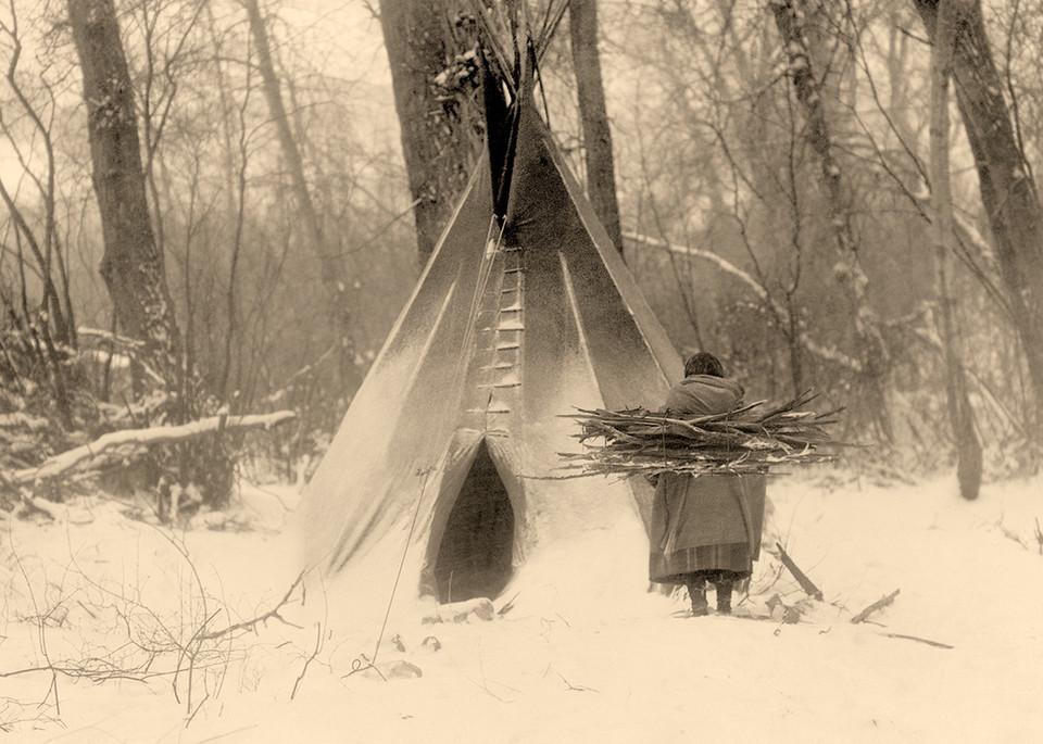 Winter Apsaroke Art | Fine Art New Mexico