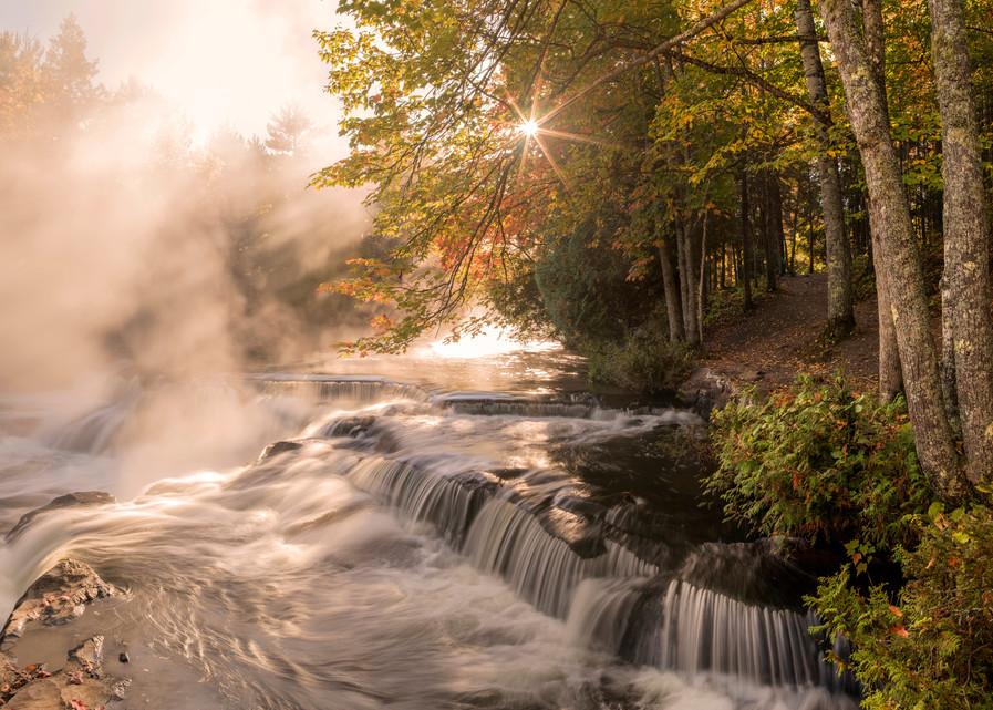 Magical Morning at Bond Falls