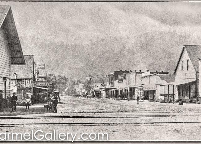 Calistoga Depot 1880's