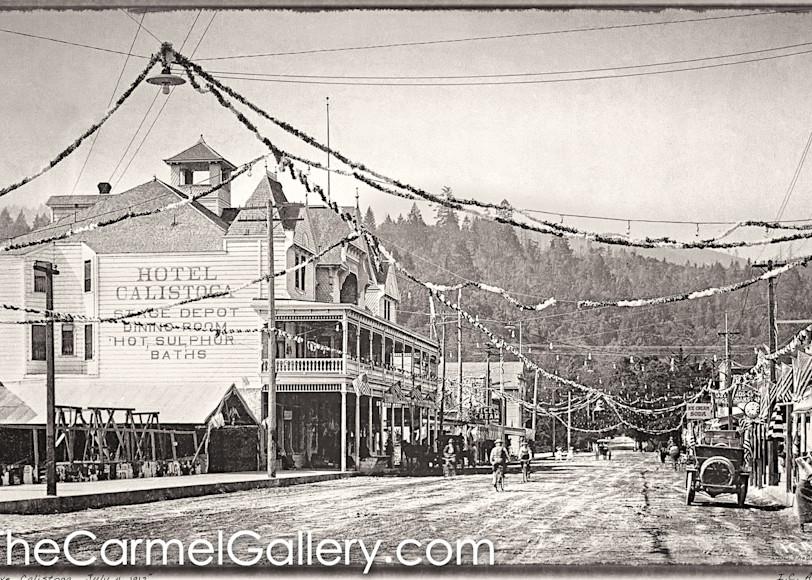 July 4 1912 Calistoga