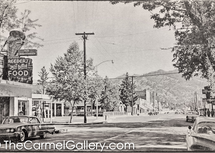 Lincoln Ave Calistoga 1960's II
