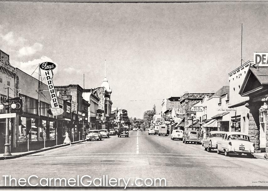 Main St St Helena 1950's