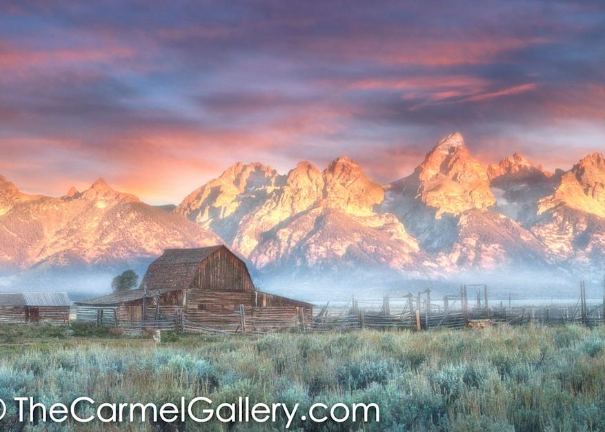 Grand Teton Homesteader Sunrise