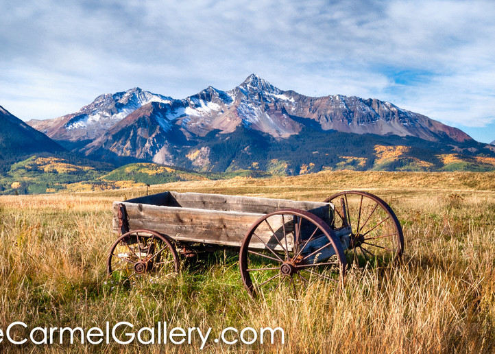 Old Wagon and Mt Wilson