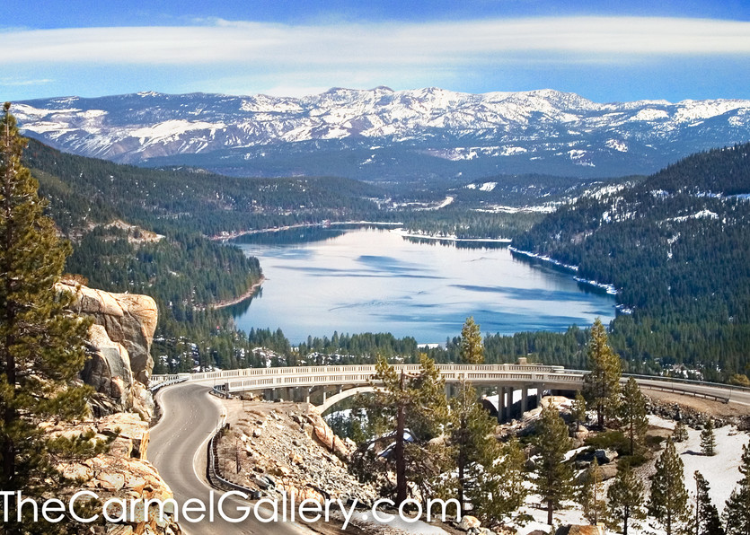Old 40 and Donner Lake