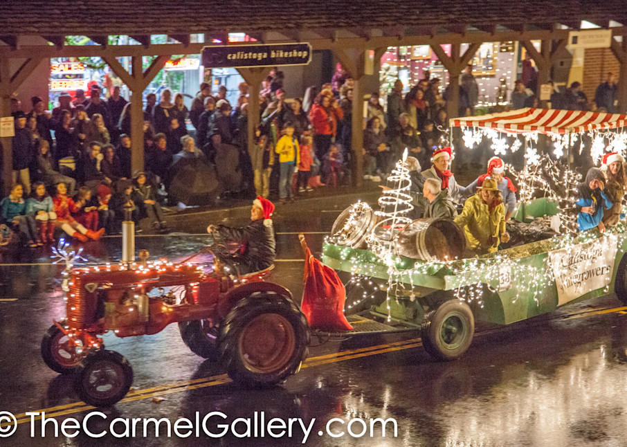 Lighted Tractor Parade 1