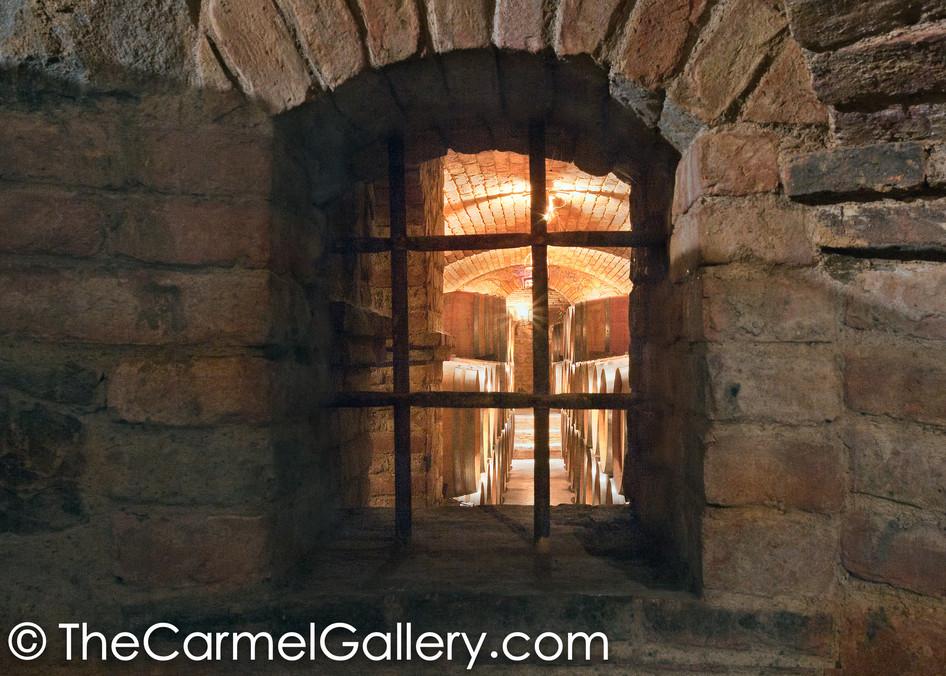 Castello Cellar Window