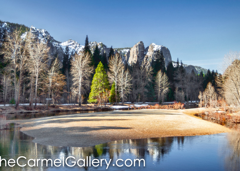 Winter Light Yosemite