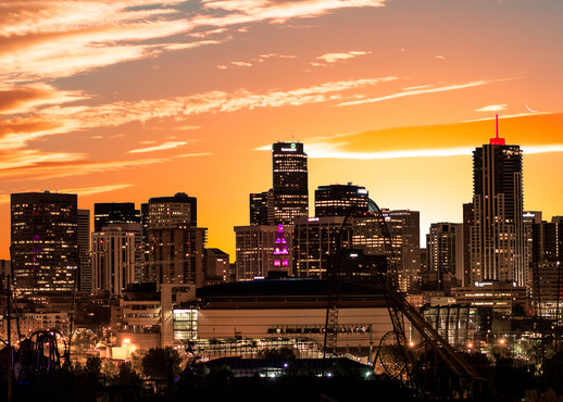 Denver Sunrise I Va Photography Art | Jon Blake Photography