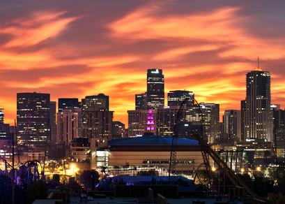 Denver Sunrise Ii Photography Art   Jon Blake Photography