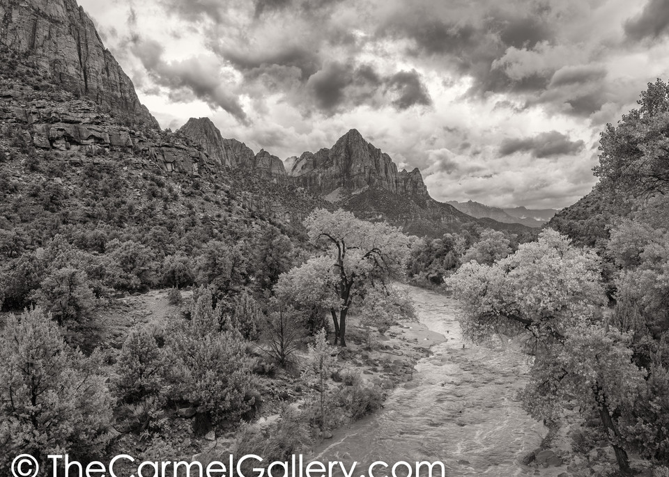 Approaching Storm, Zion Art | The Carmel Gallery