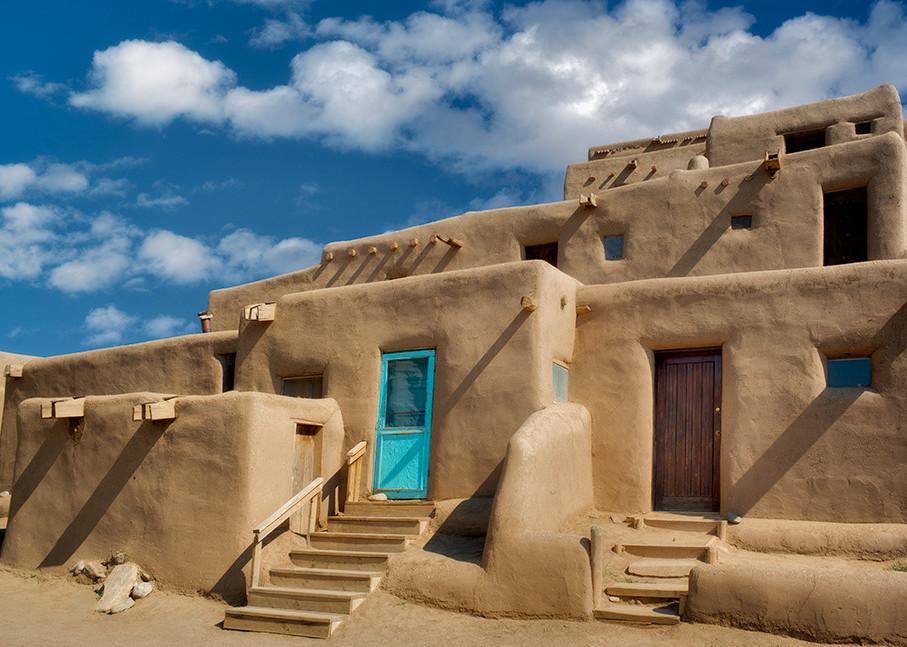 Dwelling Structures In Pueblo De Taos 2 Art   Fine Art New Mexico