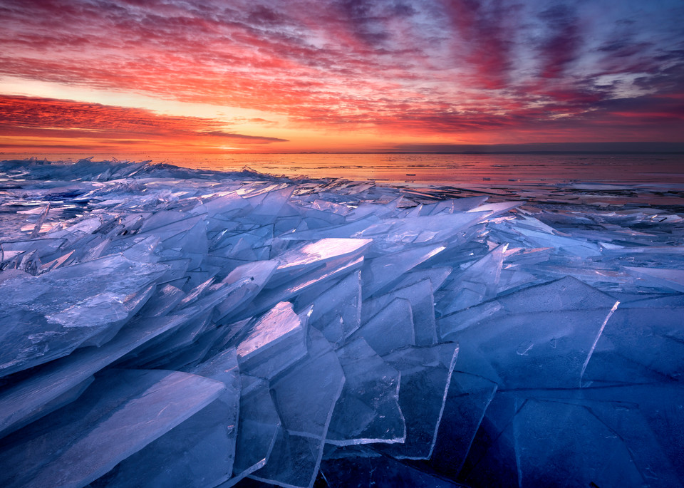Shattered Ice along the North Shore of Lake Superior
