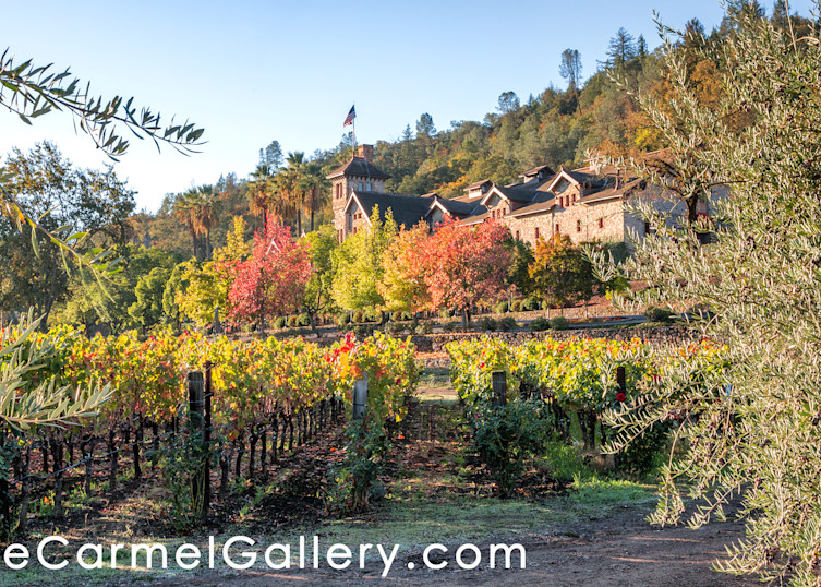 Autumn Morning Culinary Institute Art | The Carmel Gallery