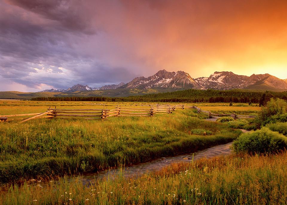 Sawtooth Mountains Sunset Art | Fine Art New Mexico
