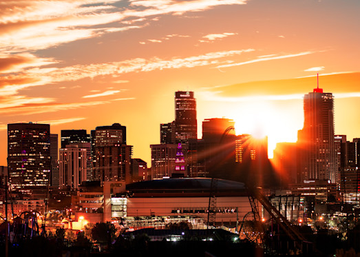 Denver Sunrise I Vb Photography Art | Jon Blake Photography
