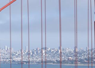 Golden Gate Bridge Skyline, San Francisco, California