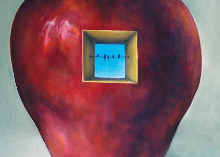 Apple Sky   Custom Size Print Art | Bottinelli Fine Art