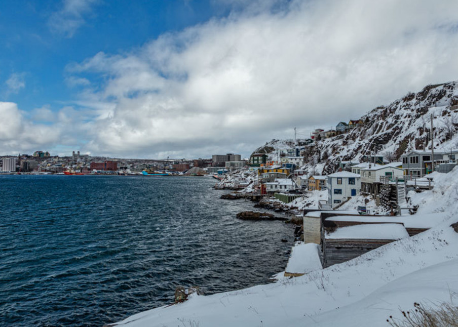 The Battery - St. John's - A Cold Battery