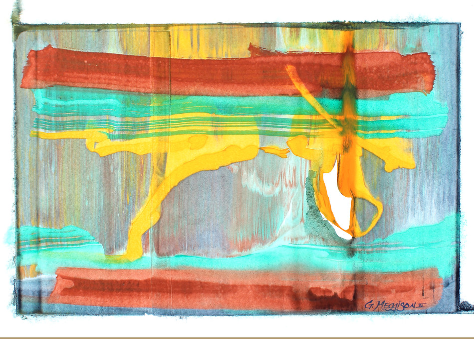 Inside Out | Abstract Watercolors | Gordon Meggison IV