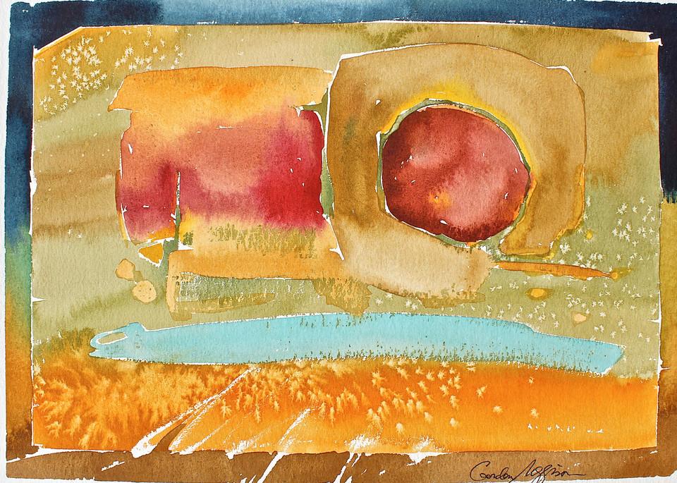 Between Us | Abstract Watercolors | Gordon Meggison IV