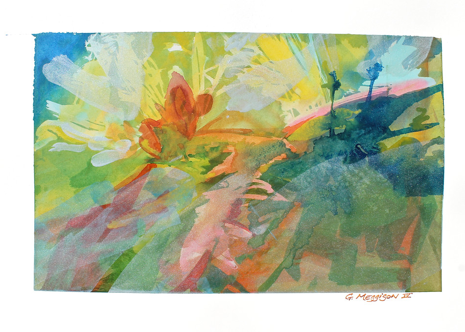 When Day Comes   Abstract Watercolors   Gordon Meggison IV