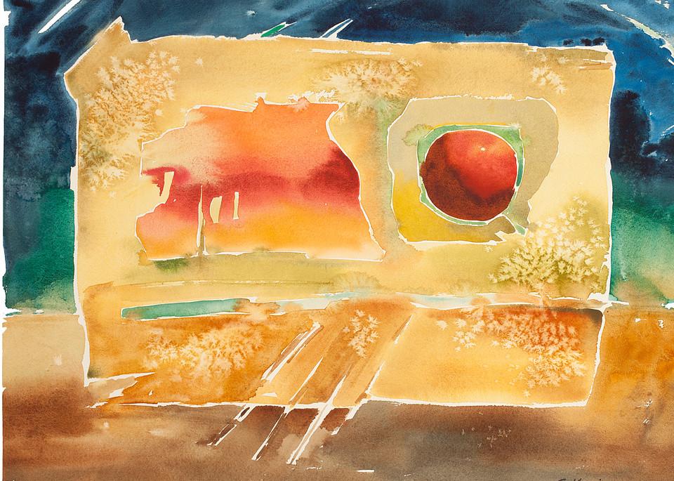 Embraced   Abstract Watercolors   Gordon Meggison IV