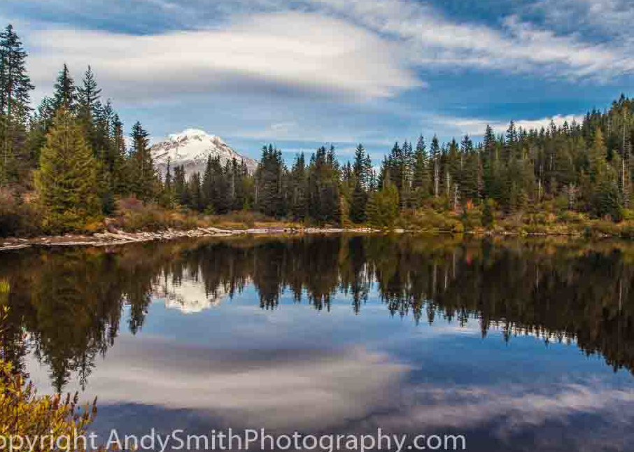fine art photograph of Fall Day in Mirror Lake