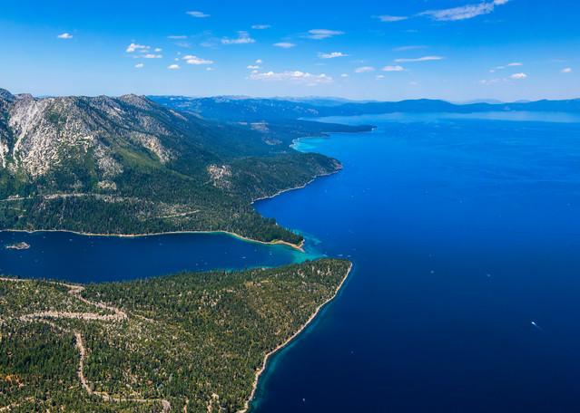 Lake Tahoe aerial photo by Brad Scott