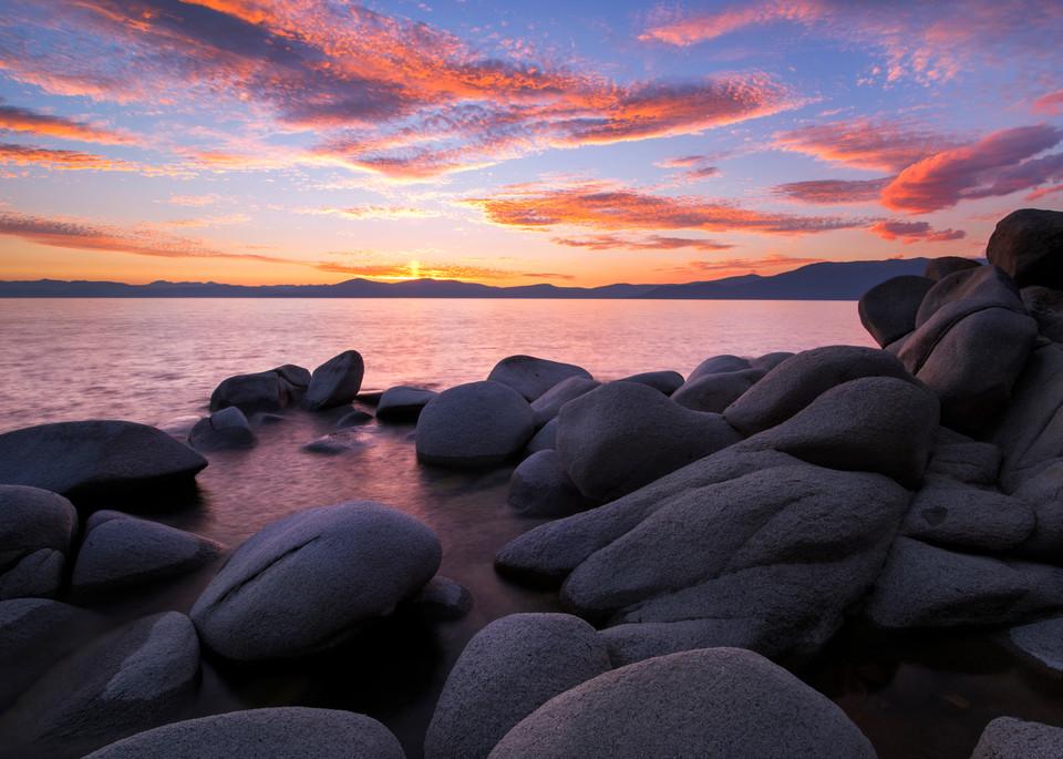 East Shore Bliss Lake Tahoe print by Brad Scott