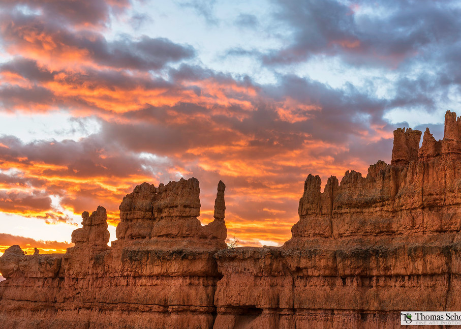 Bryce Canyon Sunrise from the Navajo Loop at sunrise/Fine art Nature photography by Thomas Schoeller